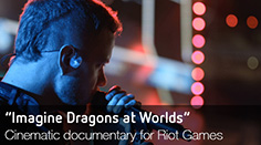 Behind the Scenes: Imagine Dragons at Worlds